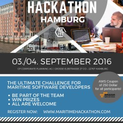 1. Maritime Hackathon Hamburg